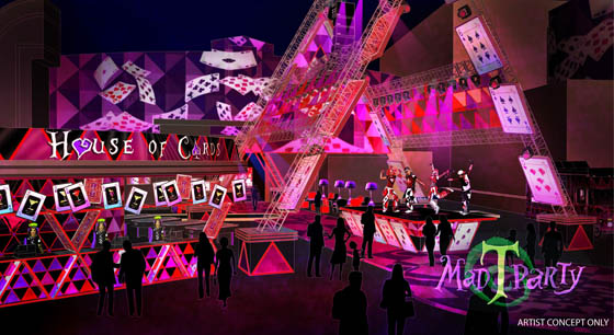 House Of Cards Mad T Party Concept Art