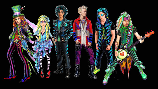 Mad T Party Band Concept Art