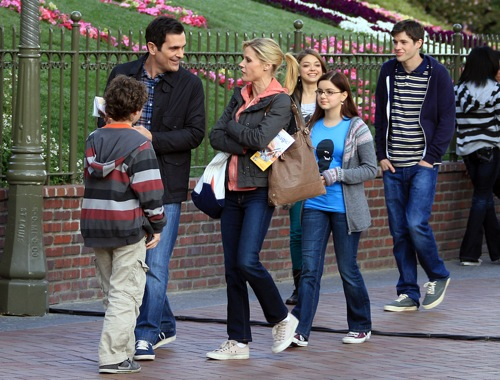 Modern Family Disneyland Episode Taping