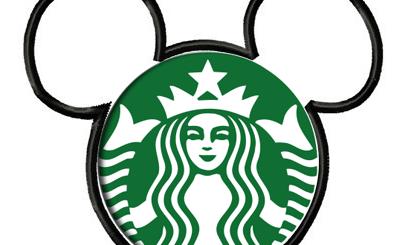 Disney Mickey Mouse Starbucks Logo