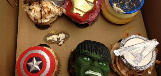 Marvels The Avengers Cupcakes