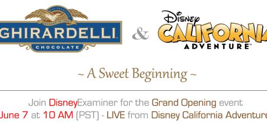 Ghirardelli Soda Fountain And Chocolate Shop Disney California Adventure Disneyexaminer Coverage Story Banner