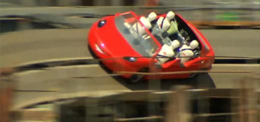 Radiator Springs Racers Ride Testing