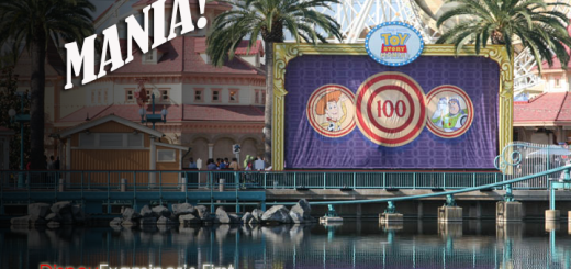Toy Story Mania Grand Opening Story Banner