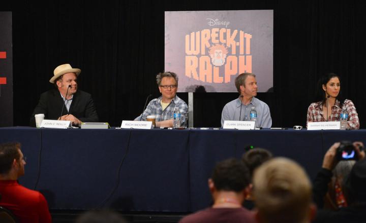 Walt Disney Studios 2012 Comic Con Wreck It Ralph