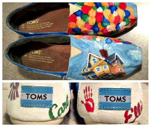Disney's Sorcerer Mickey Mouse Toms Shoes by ZacharyConnellyArt