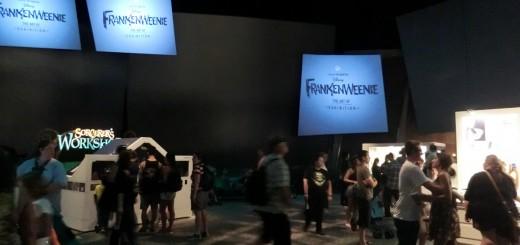 Art Of Frankenweenie Exhibit