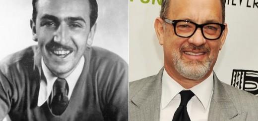 Tom Hanks Walt Disney Saving Mr Banks Production