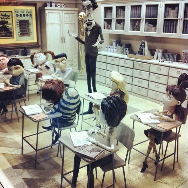 Art Of Frankenweenie Exhibition Model