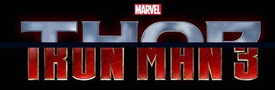 Marvel Iron Man 3 Thor 2 Logo