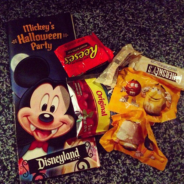 Mickeys Halloween Party Candy Disneyland