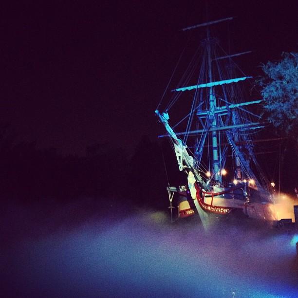 Mickeys Halloween Party Sailing Ship Columbia