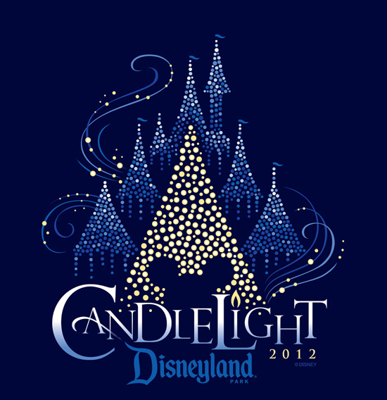 2012 Disneyland Candlelight Logo