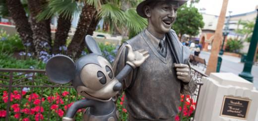 Storytellers Statue Disney California Adventure