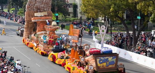 Cars Land Rose Parade Float