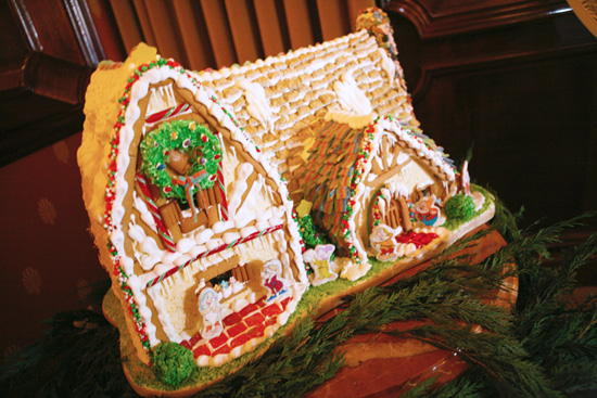 Carthay Circle Theater Gingerbread House