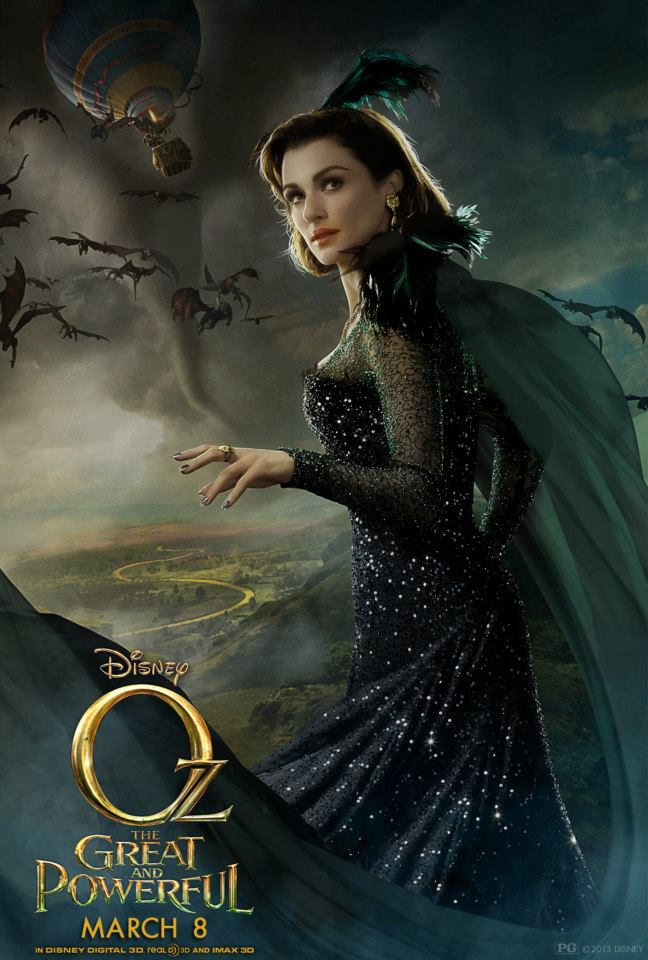 Meet Evanora Played By Rachel Weisz Oz The Great And Powerful