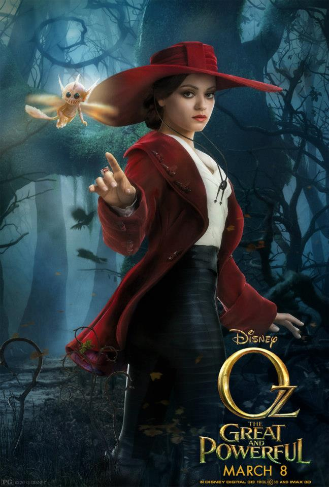 Meet Theodora Played By Mila Kunis Oz The Great And Powerful