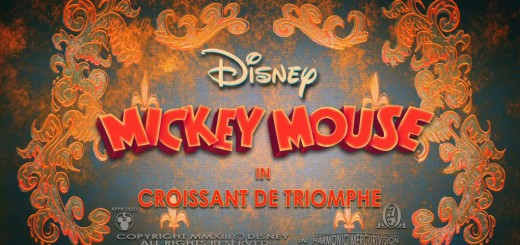 New Mickey Mouse Cartoons Title Card