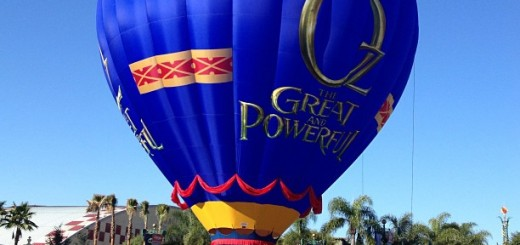 Oz Hot Air Balloon Disneyland