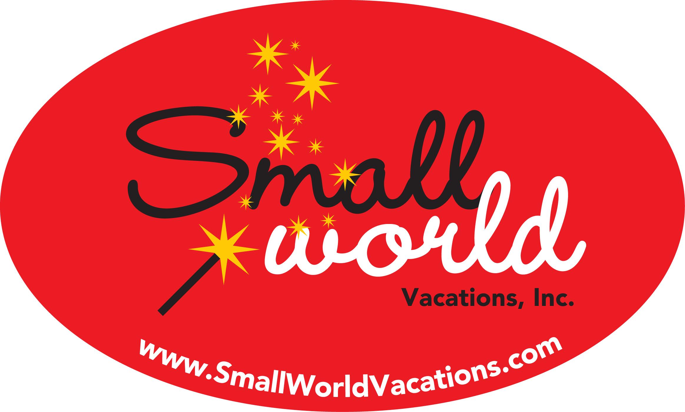 Small World Vacations Official Disneyexaminer Travel Agent Logo