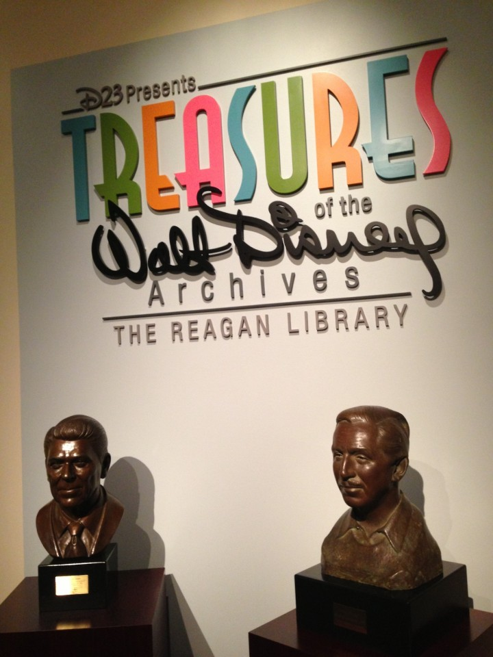 D23 Treasures Of The Walt Disney Archives Reagan Library Overview