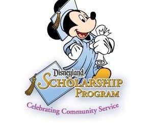 Disneyland Scholarship Program Logo