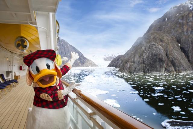 Donald S Disney Cruise In Alaska Disneyexaminer