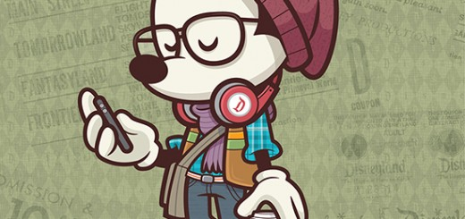 Hipster Mickey Wonderground Gallery Downtown Disney