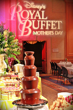 Mothers Day Royal Buffet Disneyland Hotel 1