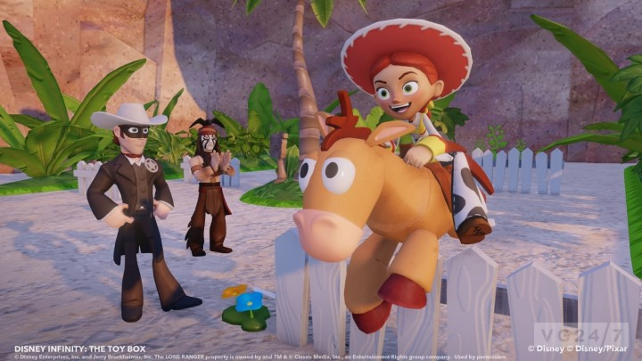 Disney Infinity The Lone Ranger Tonto Playset