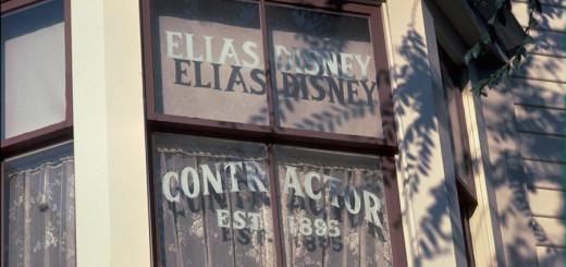 Elias Disney Main Street Usa Window