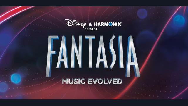 Fantasia Music Evolved Disney Interactive Logo