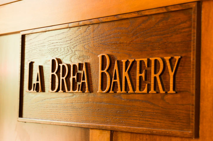 La Brea Bakery Cafe Downtown Disney Entrance Sign