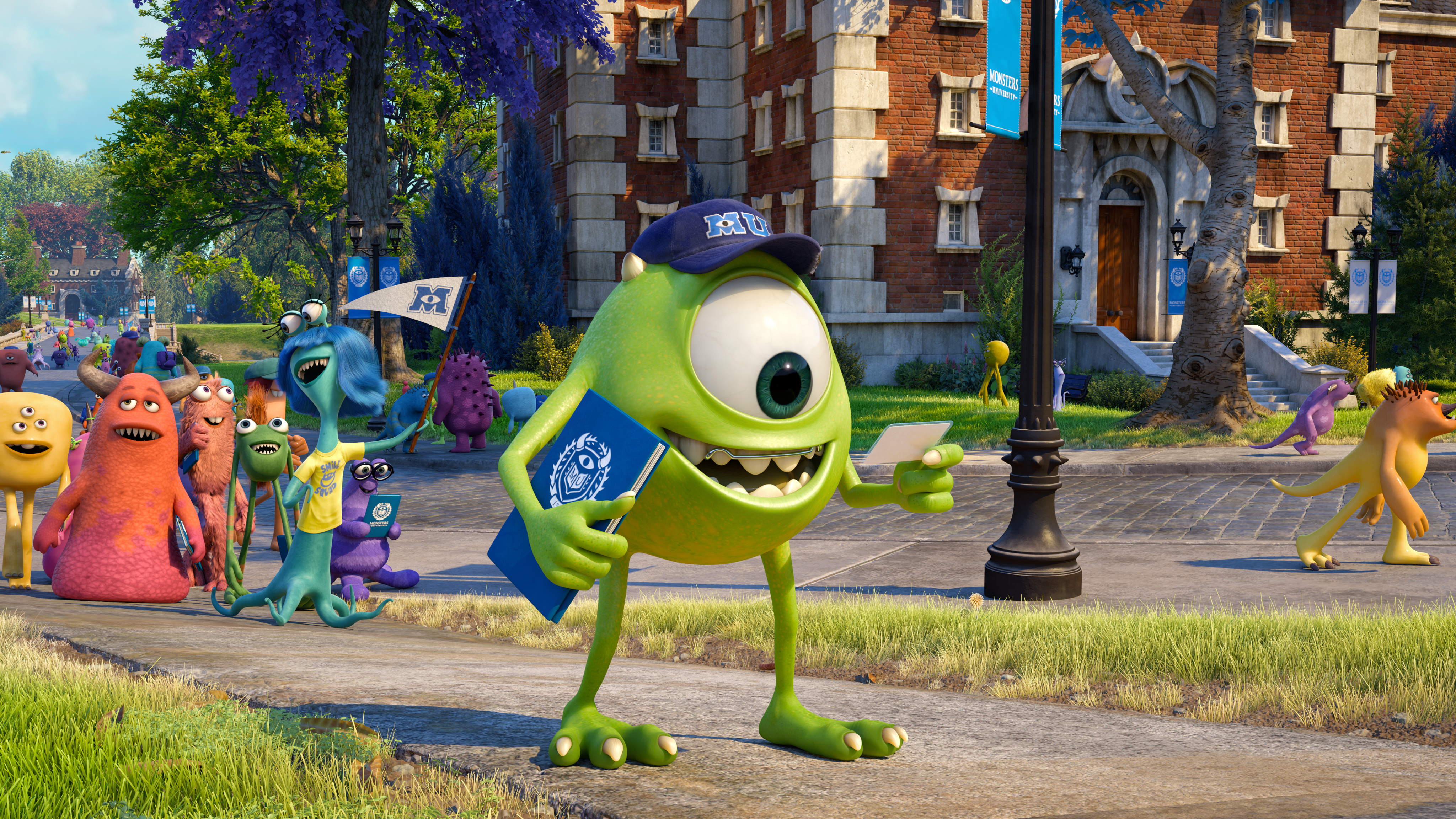 Monsters University Review Mike