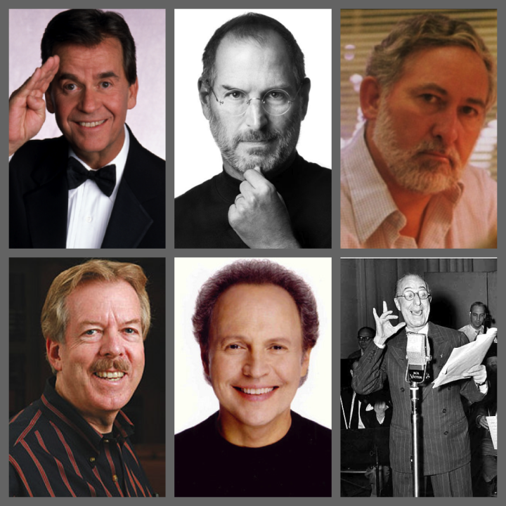 2013 Disney Legends Collage Dick Clark Tony Baxter Steve Jobs Billy Crystal Collin Campbell Ed Wynn