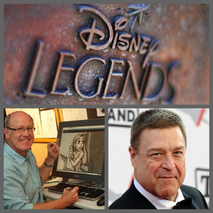 2013 Disney Legends Collage Glen Keane John Goodman