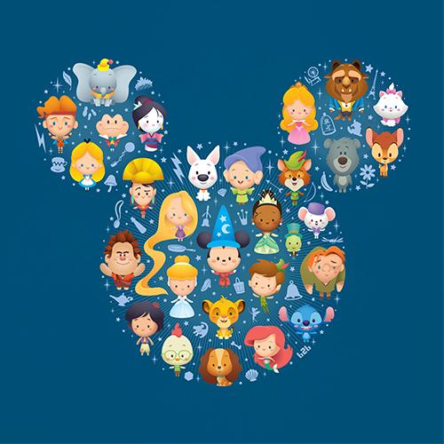 Jerrod Maruyama A World Of Cute Disney Character Art ...