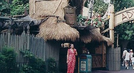 Walt Disneys Enchanted Tiki Room Hostess Vintage Disneyland