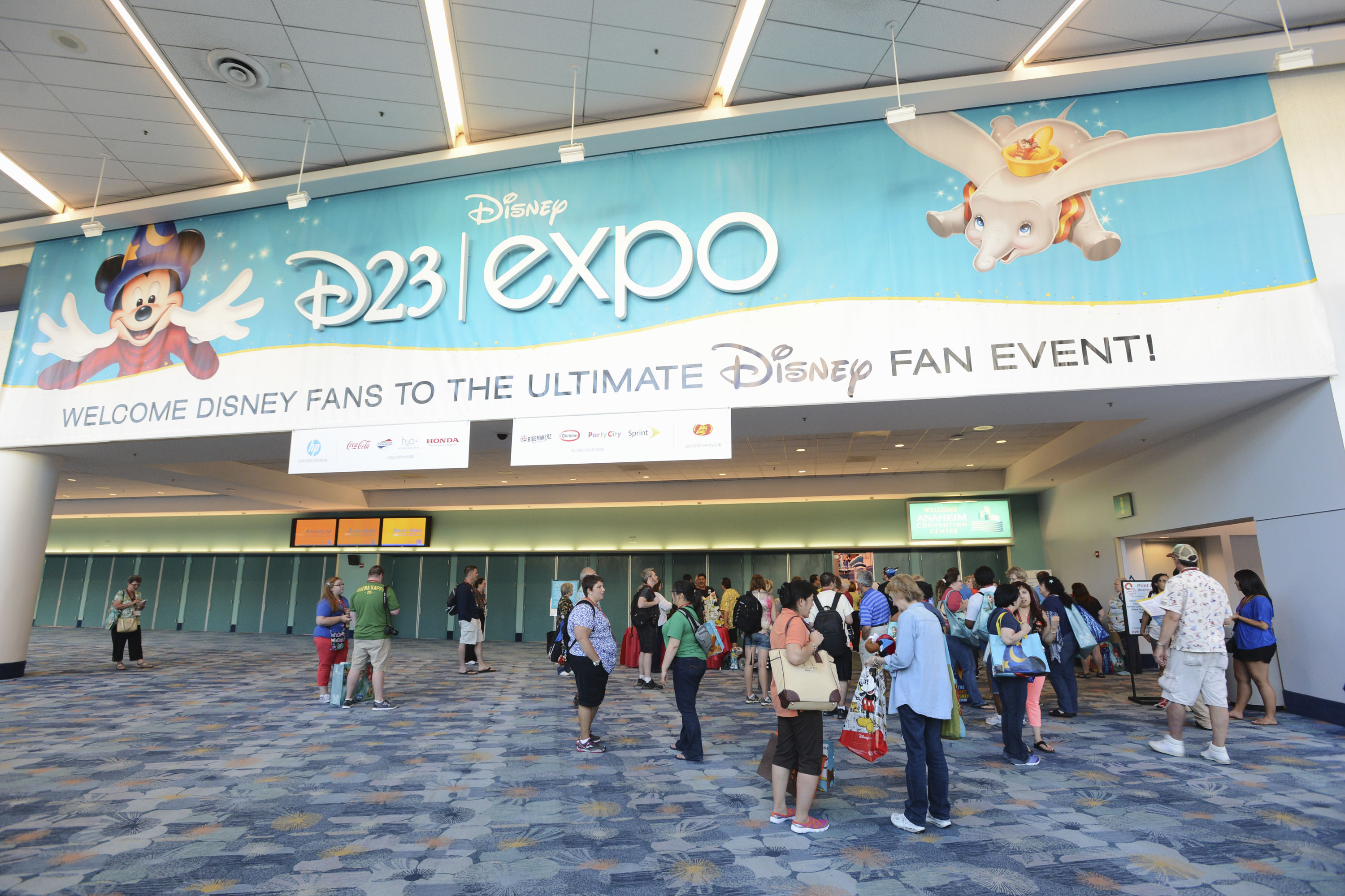 D23 expo level up!