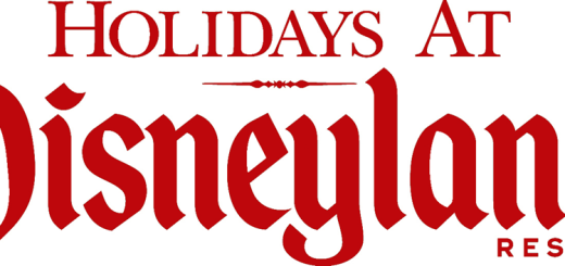 Holidays Christmas Winter At The Disneyland Resort Logo
