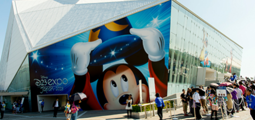 Inaugural Disney D23 Expo Japan Venue Exterior
