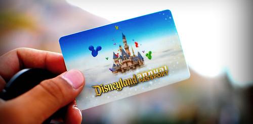 Disneyland Resort Annual Passholder Card