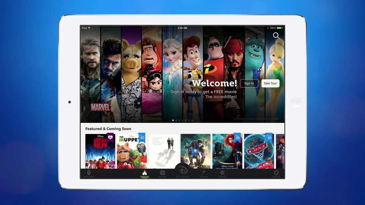 disney movies anywhere ios app
