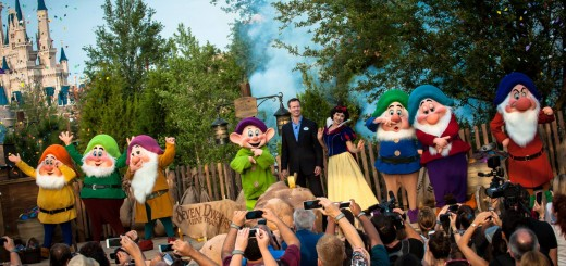 Seven Dwarfs Mine Train Dedication Tom Staggs New Fantasyland Walt Disney World Press Event