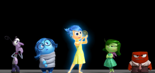 Disney Pixar Inside Out Emotions Characters Group Picture