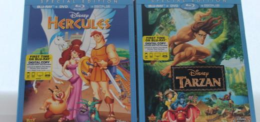 Disney Home Entertainment Classics Blu Ray Combo Pack Hercules Tarzan