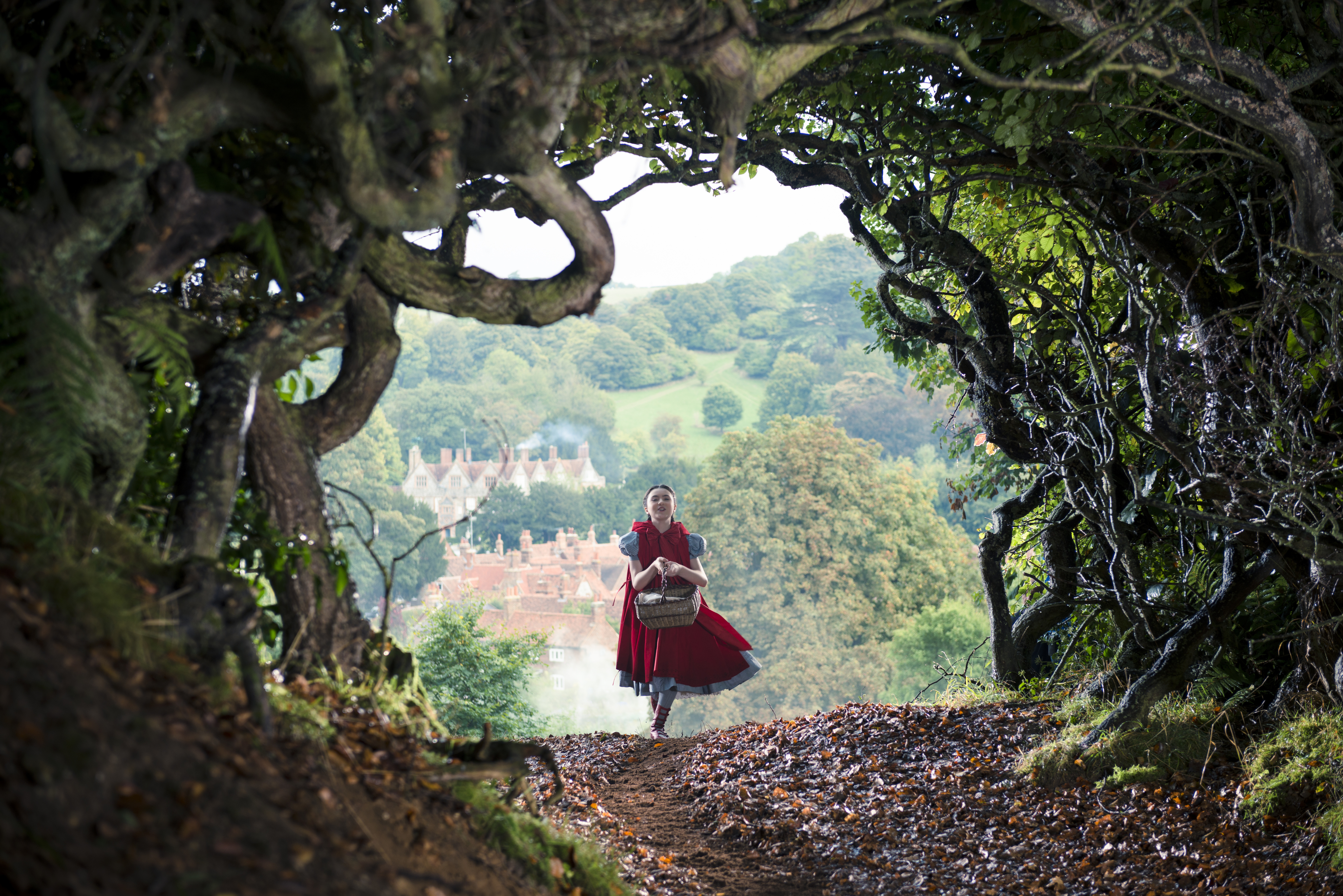 Disney into the woods little red riding hood preview