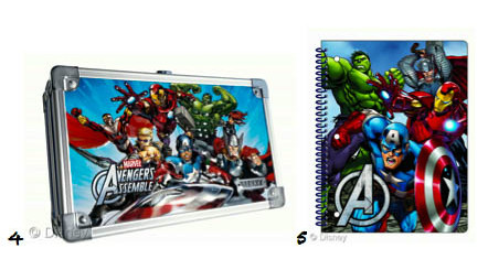 Marvel Avengers Disney Consumer Products Back To School Shopping List