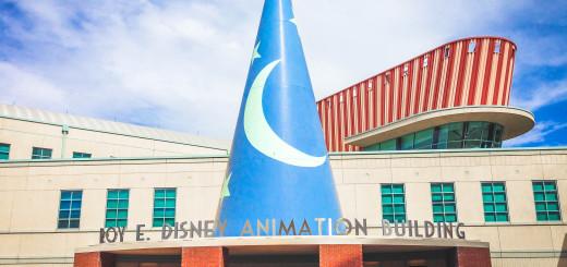 New Animation Building Sorcerers Hat Walt Disney Studios Lot